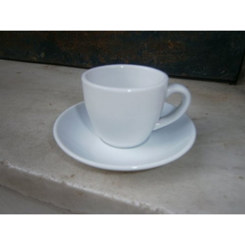 HILTON CUP AND PLATE FOR ESPRESSO COFFEE