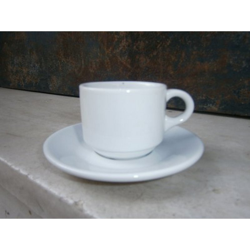 XENIA CUP AND PLATE FOR ESPRESSO COFFEE