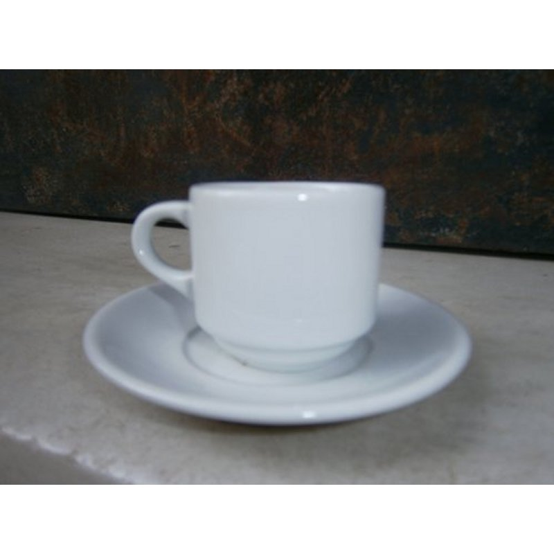 XENIA CUP AND PLATE FOR GREEK COFFEE